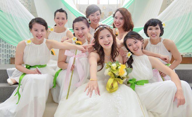 教堂婚禮 | 婚禮佈置 | 小苗&詩琪