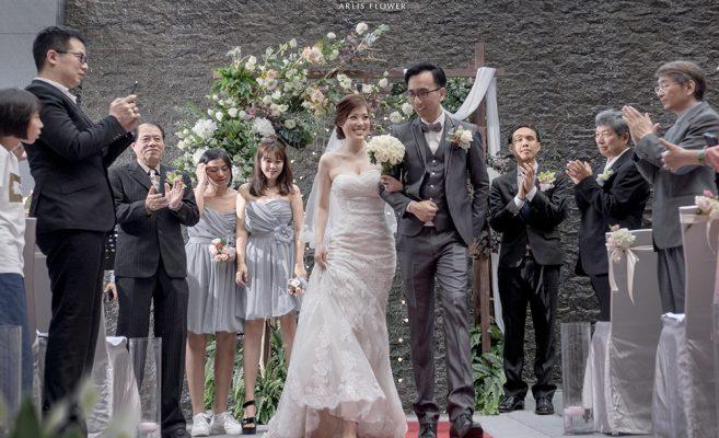 教堂婚禮 | 婚禮佈置 | Lee & Trina | 新店白金花園