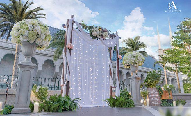戶外婚禮|教堂婚禮|婚禮佈置推薦|婚禮背板|婚禮佈置價格